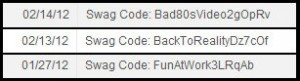 codes swag