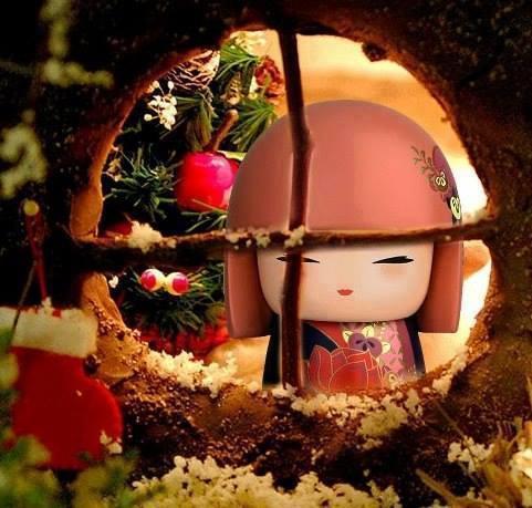 Kokeshi Une Poupée Porte Bonheur